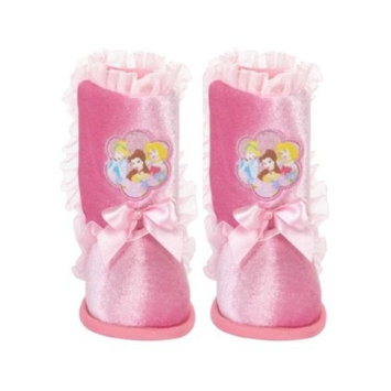 Naturally Fresh DISNEY PRINCESS TODDLER GIRL BOOTIE SLIPPERS SIZE 7/8