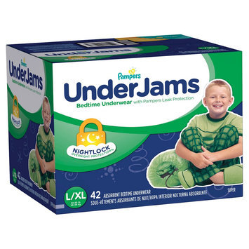 Pampers Underjams Pampers Boys' UnderJams Training Pants - Size L/XL (42 Count)