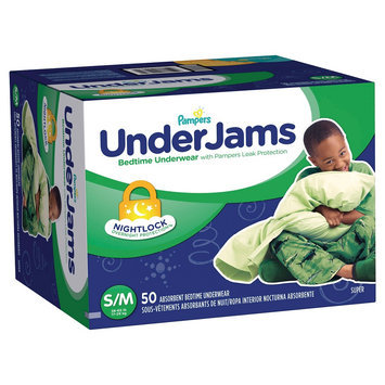 Pampers Underjams Pampers Boys' UnderJams Training Pants - Size S/M (50 Count)