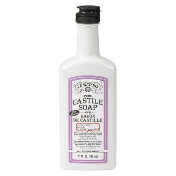 J.R. Watkins Pure Castile Liquid Soap, Lavender Castile, 11 Fluid Ounce