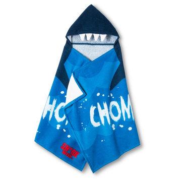 Jay Franco & Sons Shark Week Hooded Bath Towel - Blue/Navy