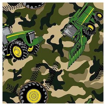 John Deere Camo Tractor Fabric