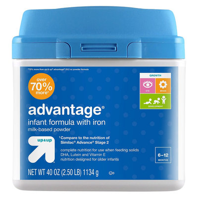 up & up Advantage Infant Formula with Iron - 40oz