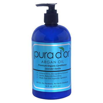 Pura d'or Organic Lavender Vanilla Conditioner
