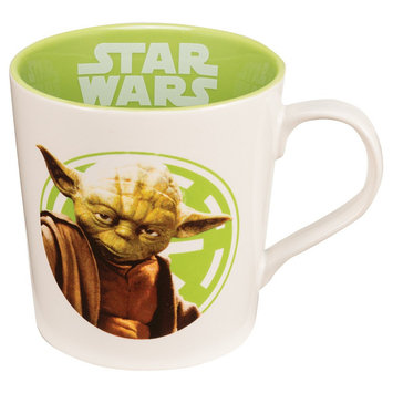 Vandor Star Wars Yoda Use the Force 12 oz. Ceramic Mug