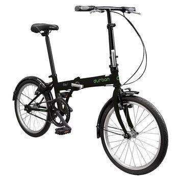Durban Bay 1 One Speed Folding Bike - Black