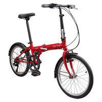 Durban Bay 6 Six Speed Folding Bike - Red
