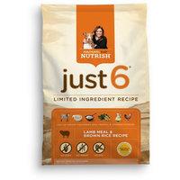 Nutrish Just 6® Lamb Meal & Brown Rice Recipe
