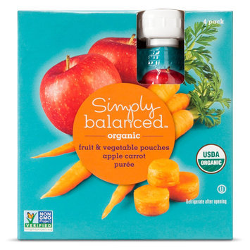 Simply Balanced SB Apple Carrot F & V 3.2 oz Pouch