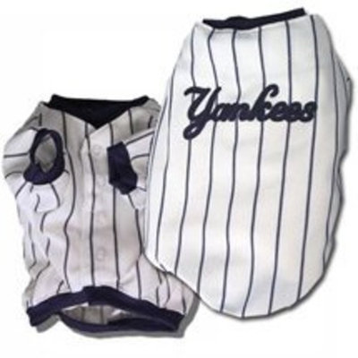 Sporty K9 York Yankees Baseball Dog Jersey