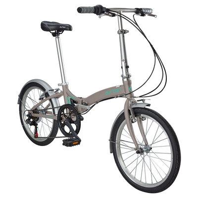 Durban Metro 6 Speed Folding Bike - Wine