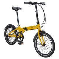 Durban Bay Pro 7 Speed Folding Bike - Yellow