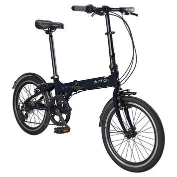 Durban Bay Pro 7 Speed Folding Bike - Graphite
