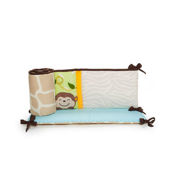 Kids Line Carter's Jungle Play All Around Crib Bumper