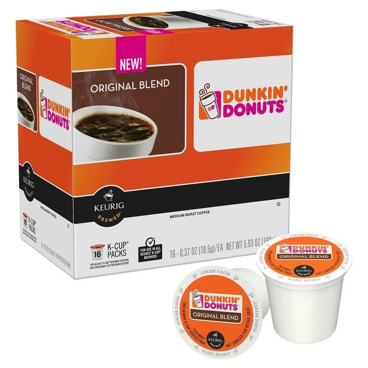 Dunkin' Donuts Original Blend Medium Roast Coffee K-Cups ...