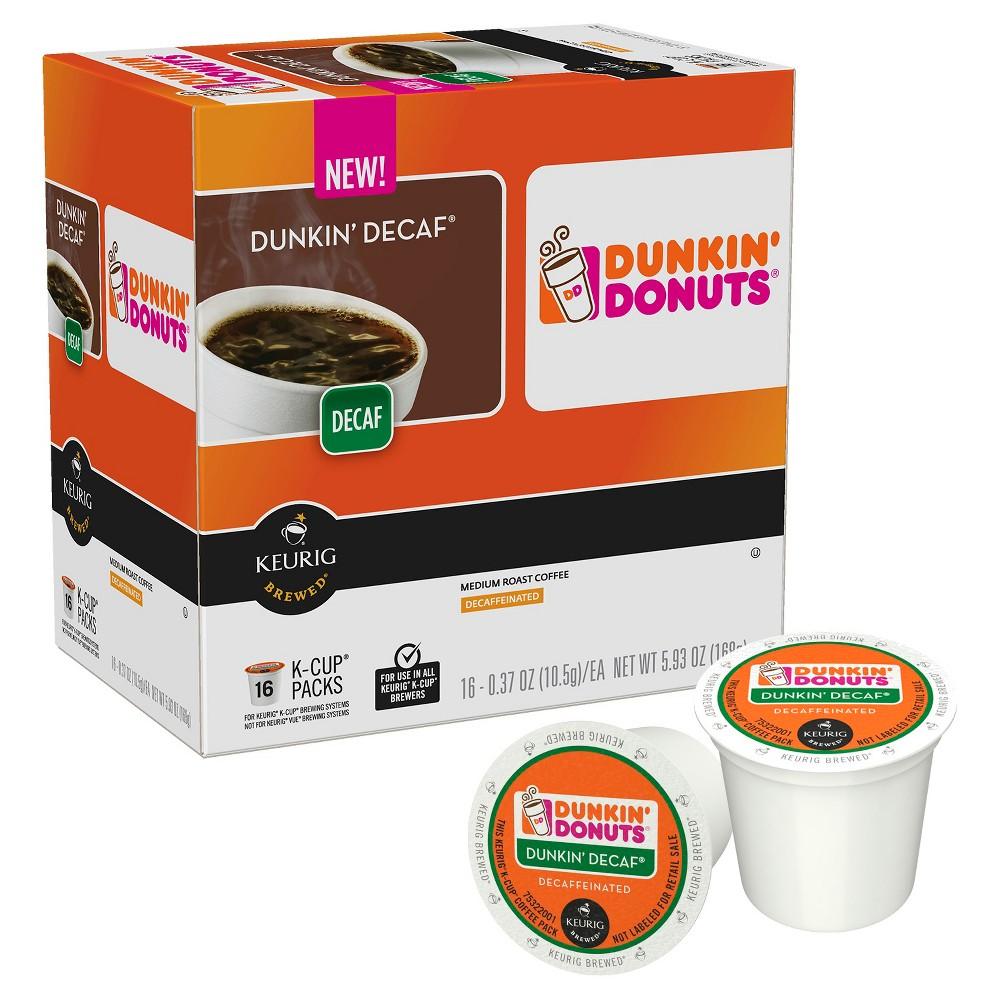 Dunkin' Donuts Dunkin' Decaf Medium Roast Coffee K-Cups