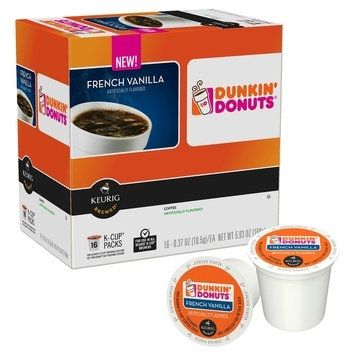 Dunkin' Donuts French Vanilla Coffee K-Cups