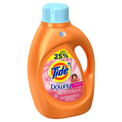 Tide Plus HE Touch of Downy April Fresh Liquid Laundry Detergent