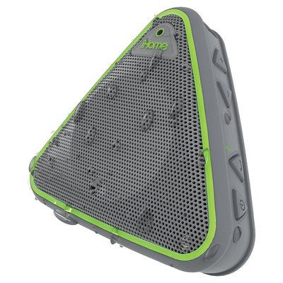 Ihome IBT3GQC Portable Bluetooth Speaker Gray