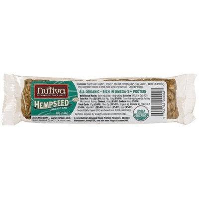 Nutiva Organic Hempseed Original Bars, 1.4-Ounces (Pack of 24)