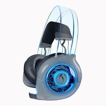 Performance Designed Products Afterglow Universal Wireless Gaming Headset - White and Blue