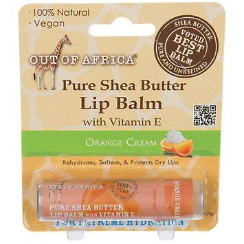 Out Of Africa - 100 Pure Shea Butter Lip Balm Orange Cream - 0.25 oz.