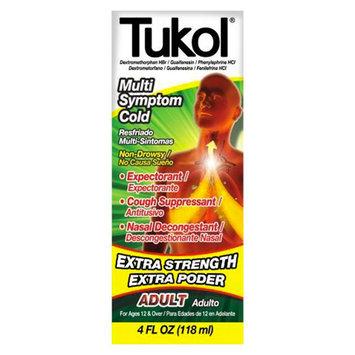 Tukol Extra Strength Multi Symptom Cold Relief Liquid - 4 fl oz