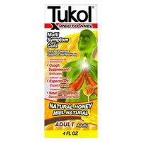 Tukol X-Pecto Miel Multi Symptom Cold Natural Honey Liquid - 4 fl oz