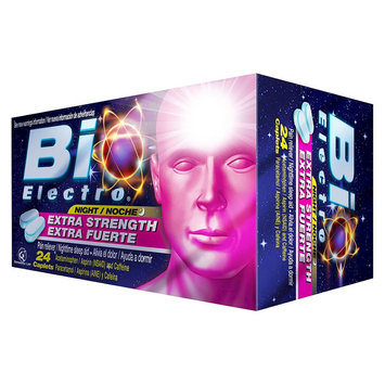 Bio Electro Extra Strength Nighttime Pain Reliever Caplets - 24 Count