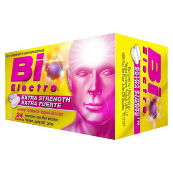 Bio Electro Extra Strength Pain Reliever Caplets - 24 Count