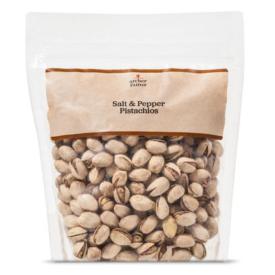 Archer Farms AF Salt and Pepper Pistachios (In Shell) 16oz