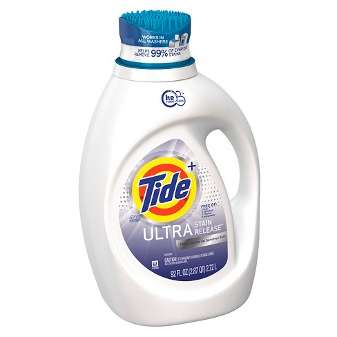Tide Ultra Stain Release FREE Liquid Laundry Detergent