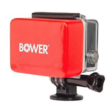 Bower Xtreme Action Series Waterproof Housing Floater for GoPro - Red