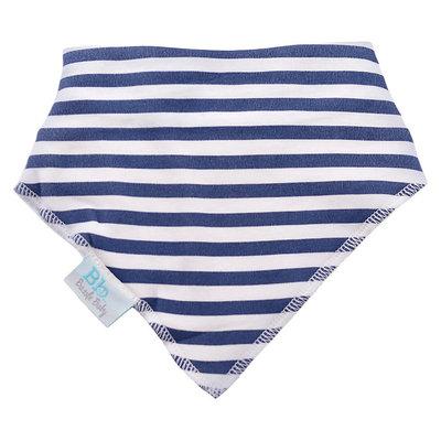Bazzle Baby Banda Bibs - Navy Stripe