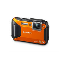 Panasonic Lumix Ts6 16 Megapixel Compact Camera - Orange - 3 Lcd - 169 - 4.6x Optical Zoom - 4x - Optical [is] - 4608 X 3456 Image - 1920 X 1080 Video - Hdmi - Hd Movie Mode - Wireless Lan (dmcts6d)