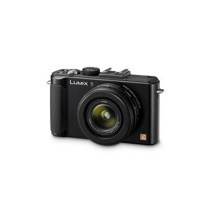 Panasonic LUMIX DMC-LX7 10 Megapixel Digital Camera - Black