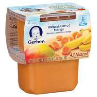 Gerber 2nd Foods Banana Carrot & Mango - 8oz (8 Pack)