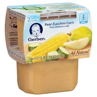 Gerber 2nd Foods Pear Zucchini & Corn - 8oz (8 Pack)