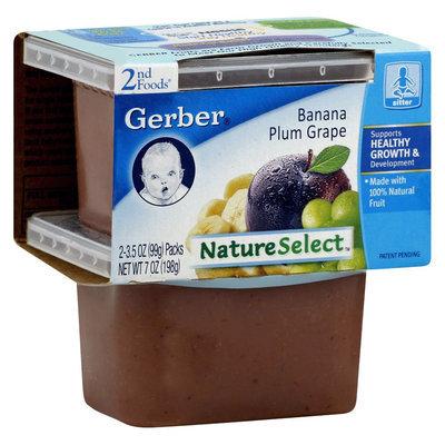 Gerber 2nd Foods Banana Plum Grape - 8oz (8 Pack)