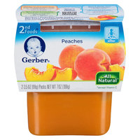 Gerber 2nd Foods Peaches - 8oz (8 Pack)