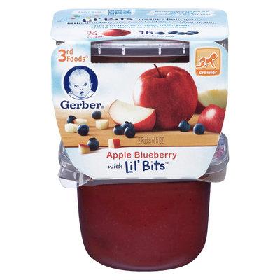 Gerber 3rd Foods Apple Blueberry - 10oz (6 Pack)