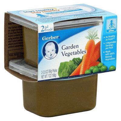Gerber 2nd Foods Garden Vegetables - 8oz (8 Pack)