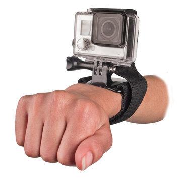 Bower Xtreme Action Series Camera Wrist Mount for GoPro Cameras - Black (XAS-VWS)