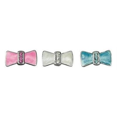 Mirage Pet Products 3/8 Enamel Bow Charm