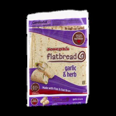 Joseph's Flatbread Garlic & Herb - 5 CT
