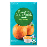Stahlbush Island Farms, Inc. Simply Balanced Organic Pumpkin 16oz.