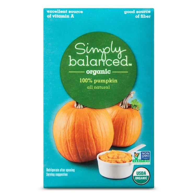 Stahlbush Island Farms, Inc. Simply Balanced Organic Pumpkin 16oz.