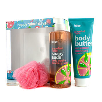 Bliss Happy Aloe Days! Gift Set