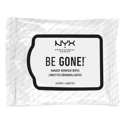 NYX Be Gone Makeup Remover Wipes