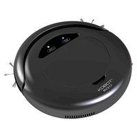 KOBOT Robotic Vacuum & Hard Floor Cleaner - Black